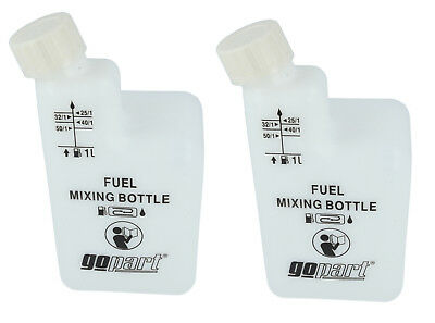 2 Stroke Mixing Bottle Suitable for 25.1 40.1 50.1 Oil Fuel Mix Pack Of 2