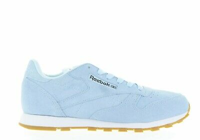 27175df27a9 Junior Reebok Cl Leather Pastels Classic Bs9330 Blue white coal Brand New