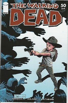 The Walking Dead #50 - First Print - VF/VF+