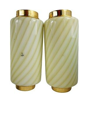 Pair of vintage sconces wall lamp Murano Glass design appliques coppia vetro