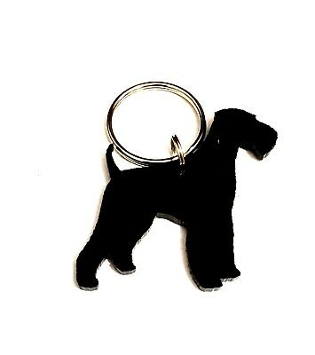 Airedale Terrier Dog Keyring/Lanyard/Keychain/Gift