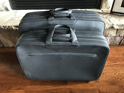 Porsche 911 40th Anniversary Edition Leather Luggage Suitcase Set New