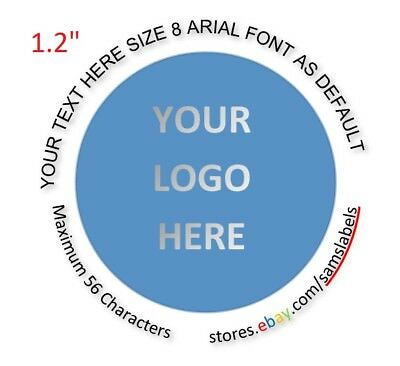 """1 1/4"""" Custom Labels Personalized Stickers Round Tage Envelope Seal bottle"""