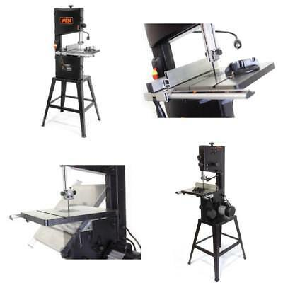 """Band Saw 10"""" Two-Speed with Stand and Worklight 3.5-Amp Motor Home Power Tools"""