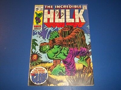 Incredible Hulk #121 Silver Age 1st Glob Wow Solid VG+