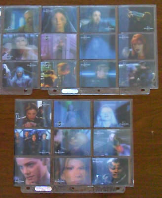 The Complete Women of Babylon 5 in Motion Set / 21 Lenticular Cards / W1 to W21