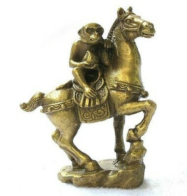 Small Collectibles Brass Monkey&Horse Statues