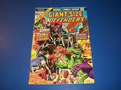 Giant Size Defenders #2 Bronze Age Fine Beauty  Wow