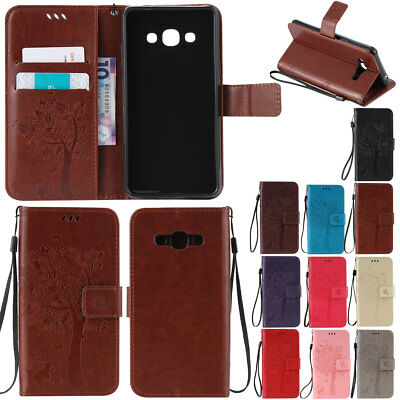 Wallet Shockproof Leather Case Cover Stand Folio For Samsung Galaxy Note 5 4 3