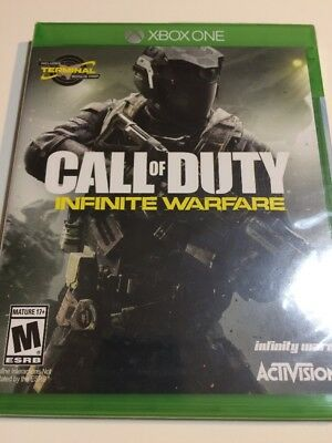 Call of Duty Infinite Warfare Xbox One w/ Zombies Brand NEW Factory SEALED CoD