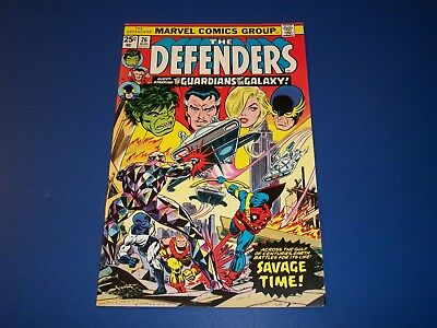 Defenders #26 Bronze Age Guardians of the Galaxy Fine+ Beauty