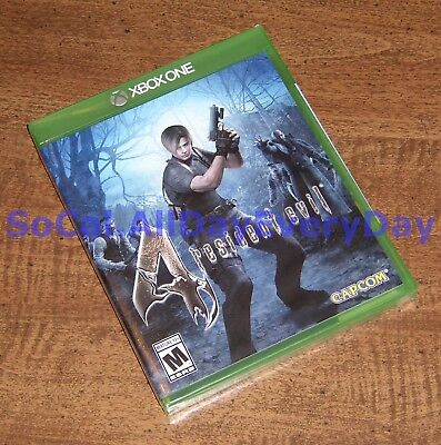 Resident Evil 4 HD (Xbox 1 One) *******BRAND NEW & FACTORY SEALED******* re4 xb1