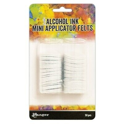 Tim Holtz Alcohol Ink Mini Applicator Tool Felts 50 pack