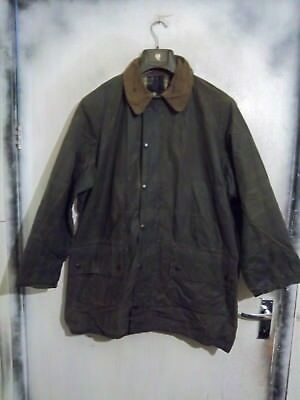Rare Vintage Barbour Gamefair Waxed Jacket Size C42 107Cm