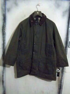 Rare Vintage Barbour Gamefair Waxed Jacket Size C44 112Cm