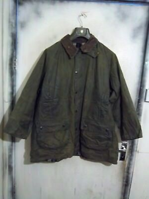 Rare Vintage Barbour Gamefair Waxed Jacket Size C46 117Cm