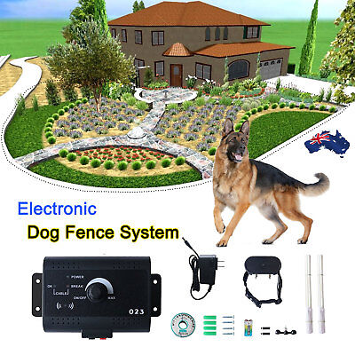 Waterproof Underground Electric Dog Fence System Shock Collars For Pet Dog CN
