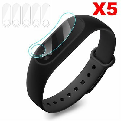 5pcs  Protector Ultra-thin Anti-Scratch Smart Wristband for Xiaomi Mi Band 2