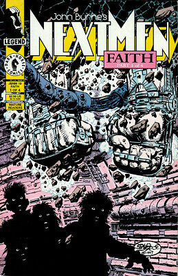 COMIC BOOK - NEXT MEN - FAITH - Issue #1 of 4 - DARK HORSE COMICS - OCT 1993