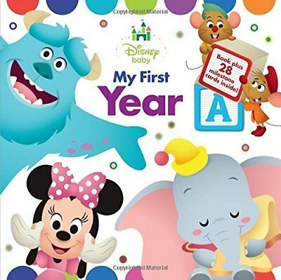 """My First Year: Record and Share Baby's """"Firsts"""" (Disney Baby)"""