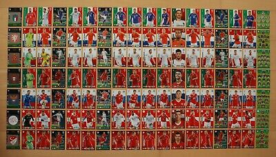 Panini World Cup 2018 Russia WM Team Mates Adrenalyn XL aussuchen (Nr.118 - 243)