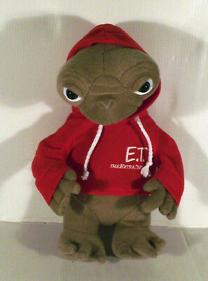 """12"""" Et The Extra Terrestrial In Red Hoodie Coat Soft Toy"""