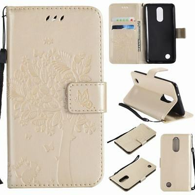 LG REBEL 3 LTE L158VL Wallet Case Design Fashion Cover With