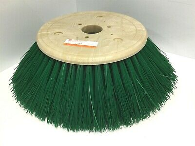 "New Bruske 7T613 Power Sweeper Side Brush, Brulon Bristles OD: 13"", ID: 2.5"""
