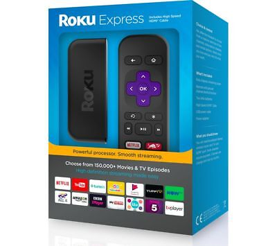 Roku Express+Digital HD Media Streamer,Smart Tv - Lowest price anywhere. Bargain