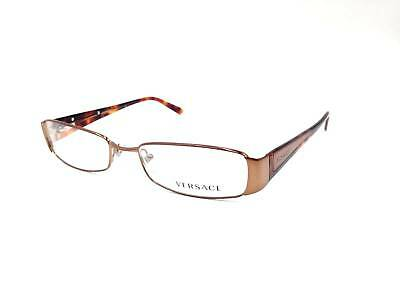 b7f74f6784b  350 Versace Womens Brown Eyeglasses Frames Glasses Optical Italy Lens Mod.  1084