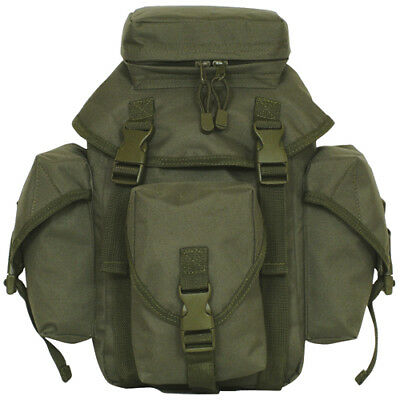 Tactical Military Recon Mission Dual MOLLE / Alice Butt Pack OLIVE DRAB