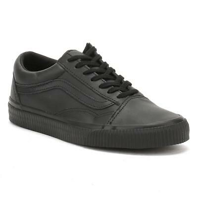 b94d28ef3cb70b Vans Old Skool Embossed Sidewall Black Women s Classic Skate Shoes Size 7