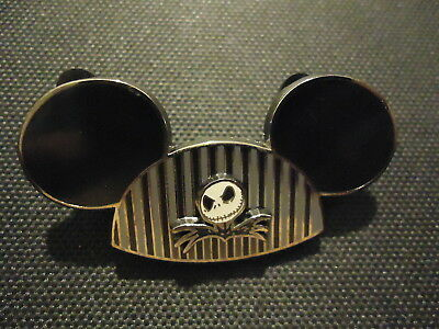 Disney Mickey Mouse Ear Hat Jack Skellington Nightmare Before Christmas Pin