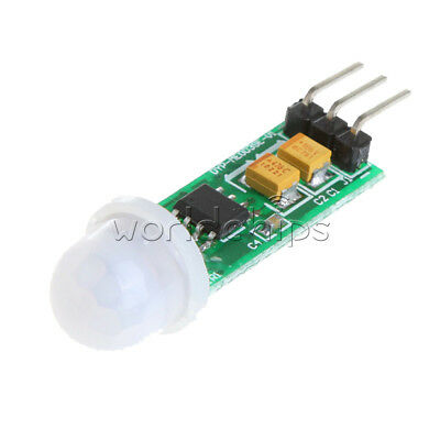 2PCS HC-SR505 Mini Infrared PIR Body Motion Sensor Infrared Detector Module