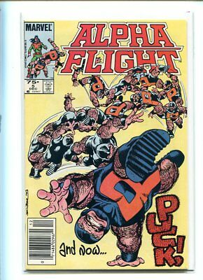 Alpha Flight #5 H Grade Action Packed Cover Canadian Price Variant