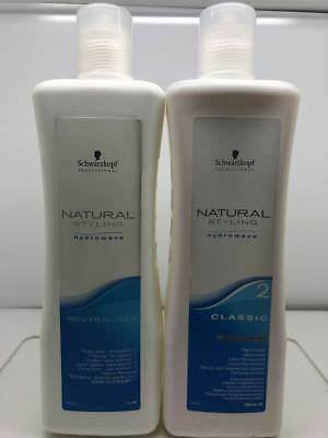 Schwarzkopf Natural Styling Hydrowave Classic Perm Set - 2 Tinted Hair