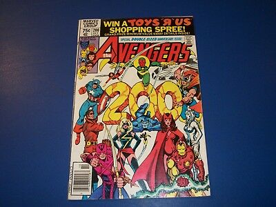 Avengers #200 Bronze Age Vision Scarlet Witch Jocasta Wow FVF Beauty