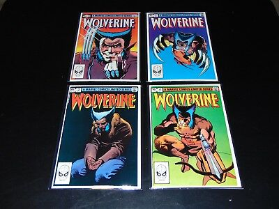 Limited Series Wolverine Set 1-4, High Grades. Marvel Keys. .99 No Reserve