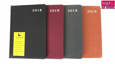 A5 Week To View 2018 Diary Personal Organizer Journal Random Color Set ST12708