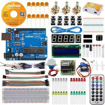 US Starter Kit With UNO R3 Board for Arduino DIY Learning Projects