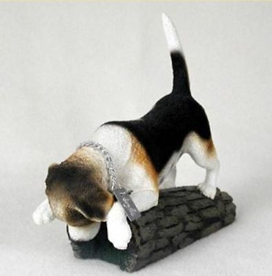 BEAGLE MY DOG  Figurine Statue Resin Hand Painted pet lovers gift