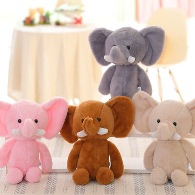 Cute Elephant Stuffed Toys Kids Baby Soft Plush Toy Xmas New Year Birthday Gift