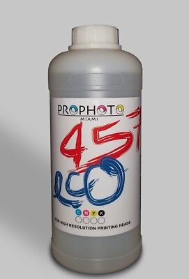 1 Liter Eco Solvent ink Cleaning Solution for Roland Mutoh Mimaki USA Seller