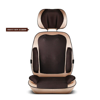 Chinese Thai Style Massager Chair Cushion Neck Back Haunch Massag 4D Auto New