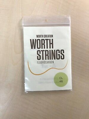 Worth Strings CL Ukulele String Clear Light 46 inch Fluorocarbon