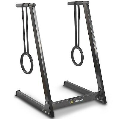 Gold Coast Dip Station With Rings / Workout Station Balance Training