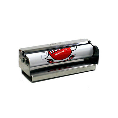 ★Macchinetta Per Rollare Smoking Rolling In Metallo Con Porta Cartine 70 Mm★