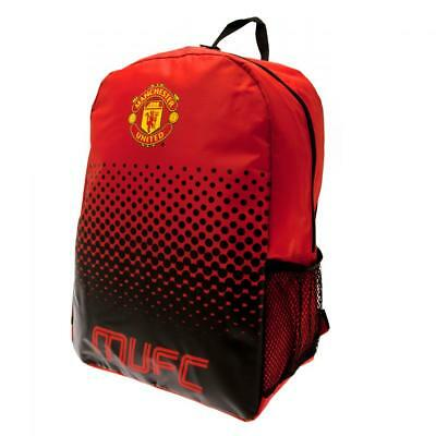 Official Manchester United School Bag Backpack. Man Utd Football Gift Kids Bag