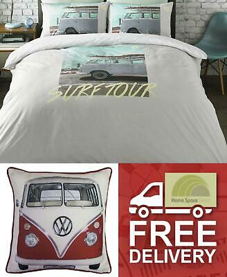 VW Volkswagen Quilt Duvet Cover Bedding Bed Sets Or Cushions Or Throw Camper Van