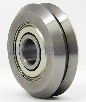 """Sidewinder Cnc Bearings 26 Rm2Zz 3/8"""" V-Groove & 4 6384K49 Ships From The Usa"""